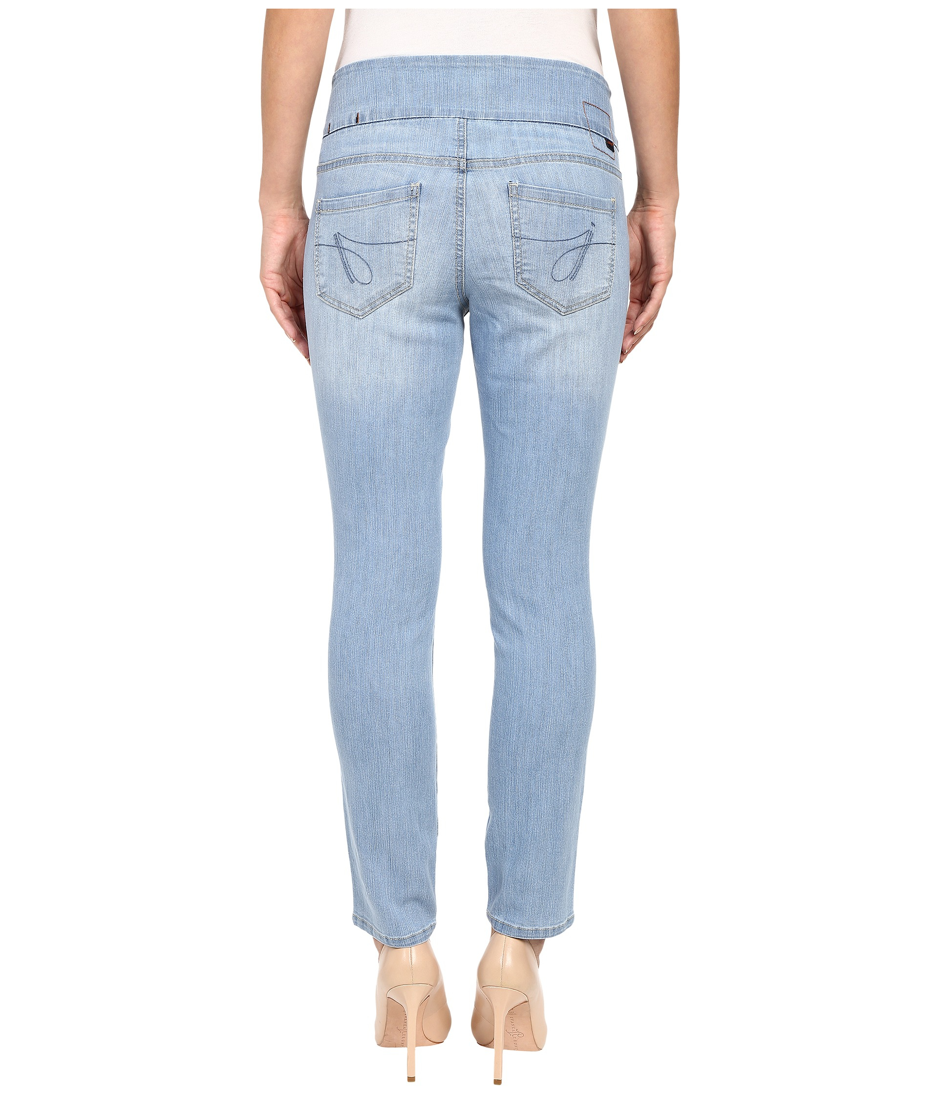Jag jeans Amelia Ankle Comfort Denim In Southern Sky in Blue | Lyst