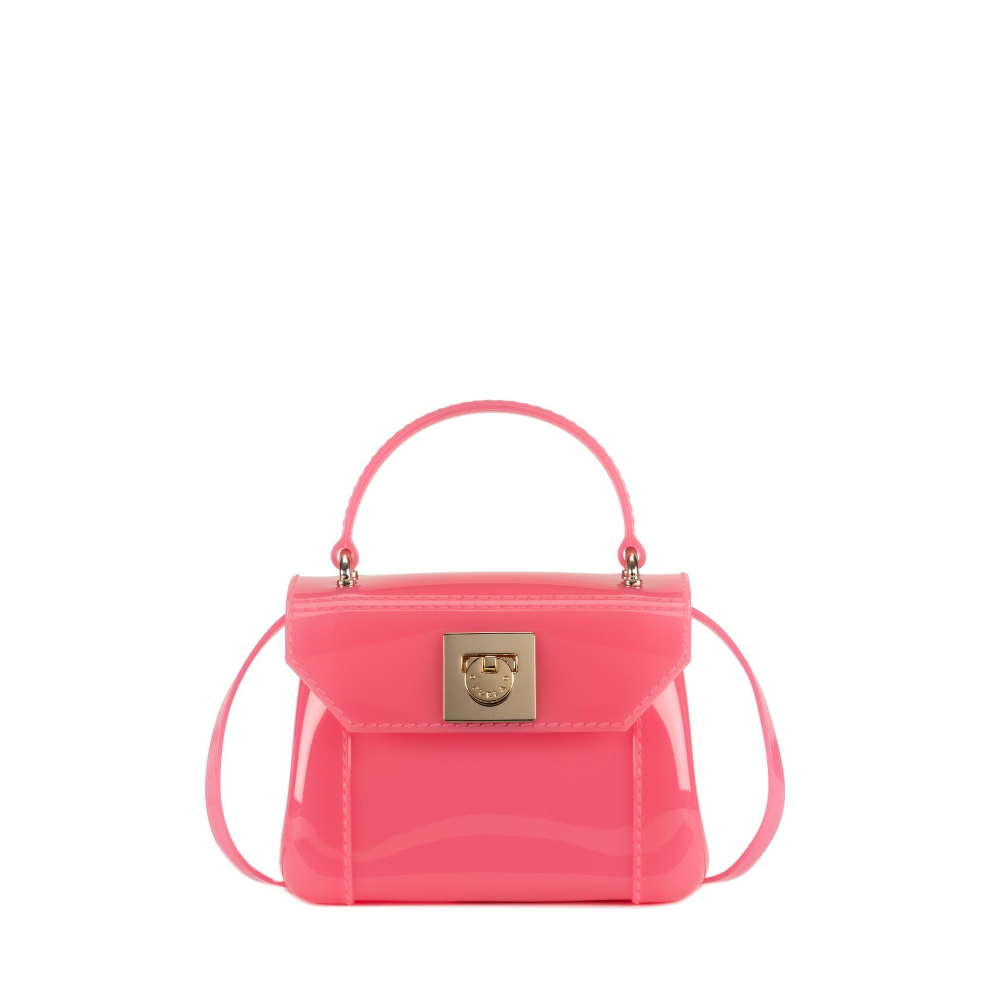 furla mini bag in pink lyst