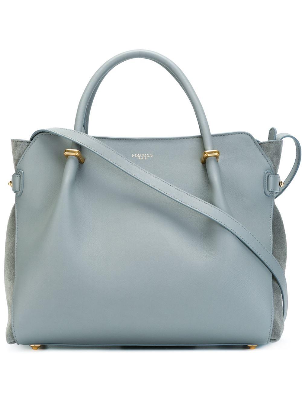 fb7ddb102f Nina Ricci  marché  Tote Bag in Blue - Lyst