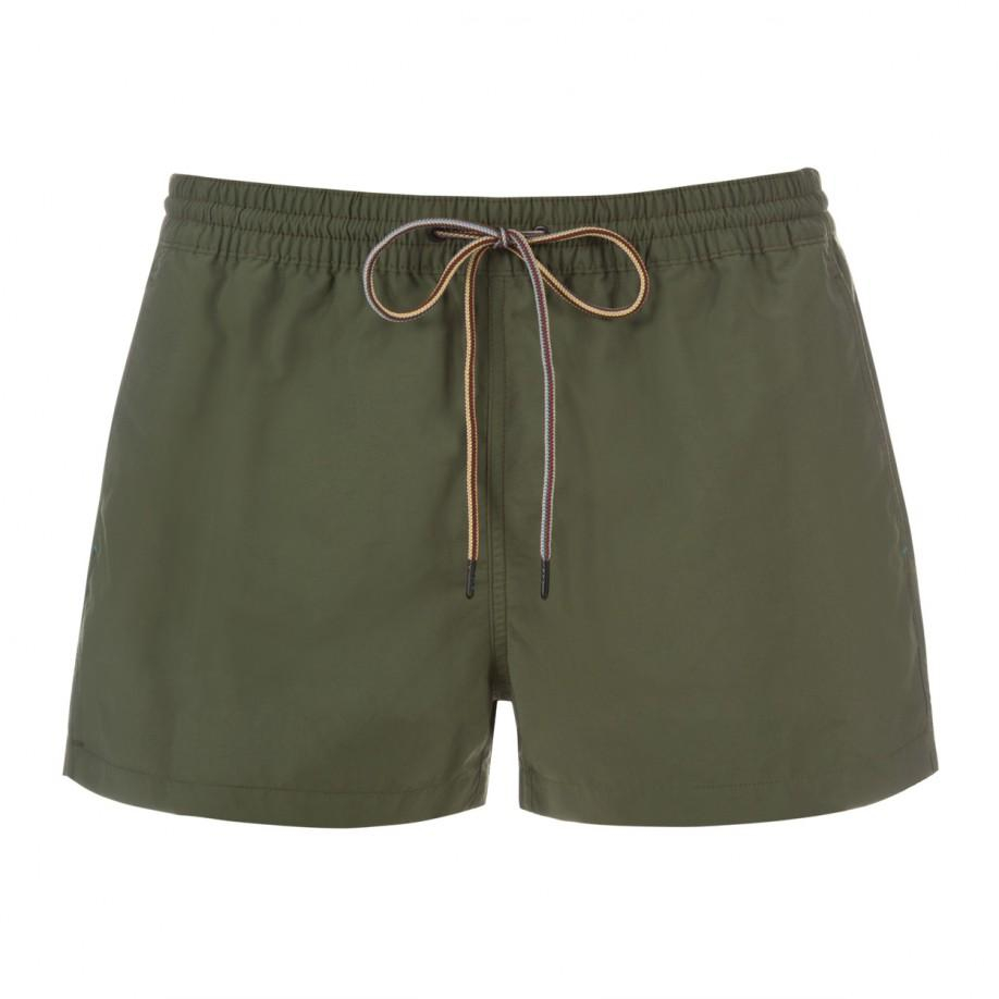 Paul smith Classic-Fit Khaki Swim Shorts in Natural for Men   Lyst