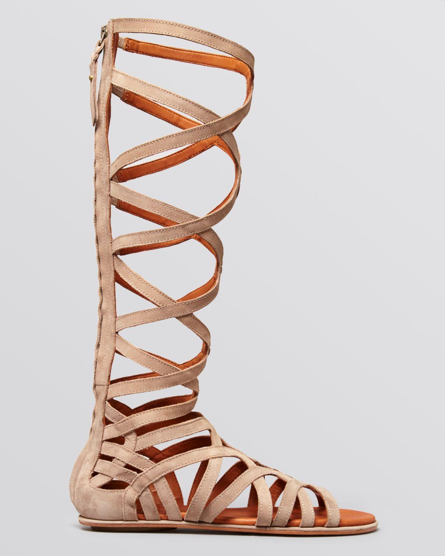 Gentle Souls Flat Gladiator Sandals Make Or Break Tall In