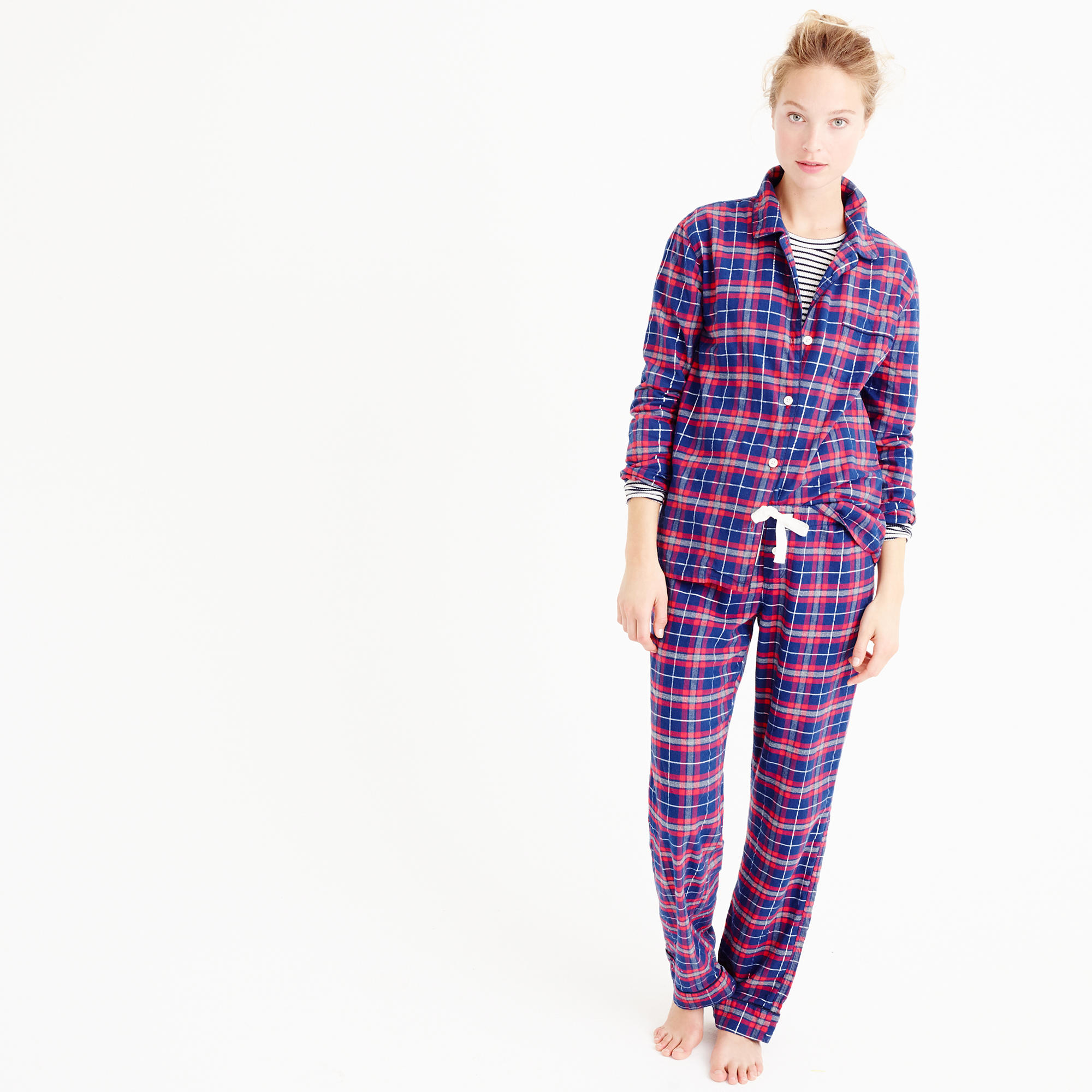 If you struggle finding pjs to fit you right, check out petite sleepwear at Lands' End. All your favorite comfortable pieces are made to fit your petite frame!