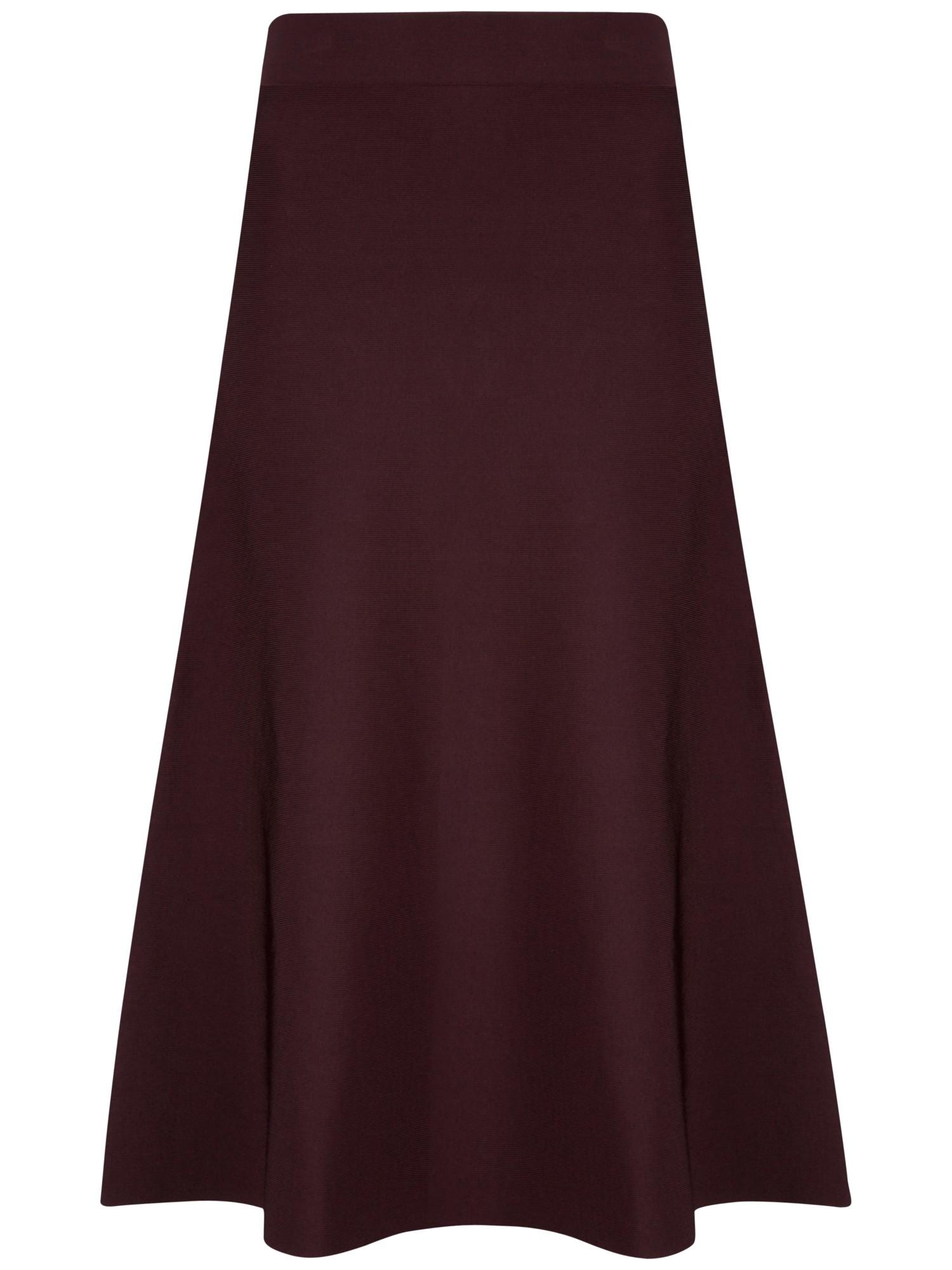 Ted baker Velerie Knit Midi Skater Skirt in Purple | Lyst