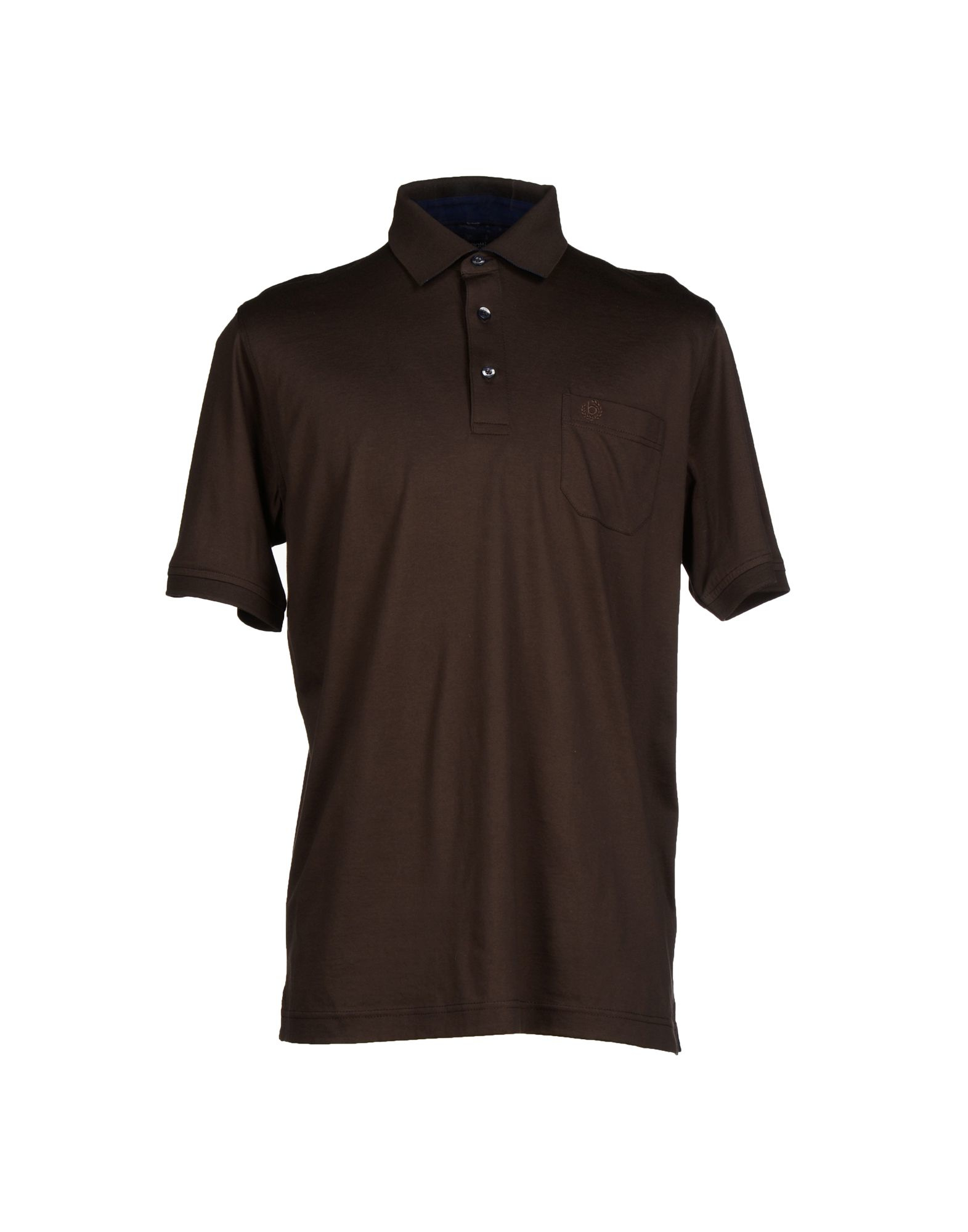 Lyst Bugatti Polo Shirt In Brown For Men