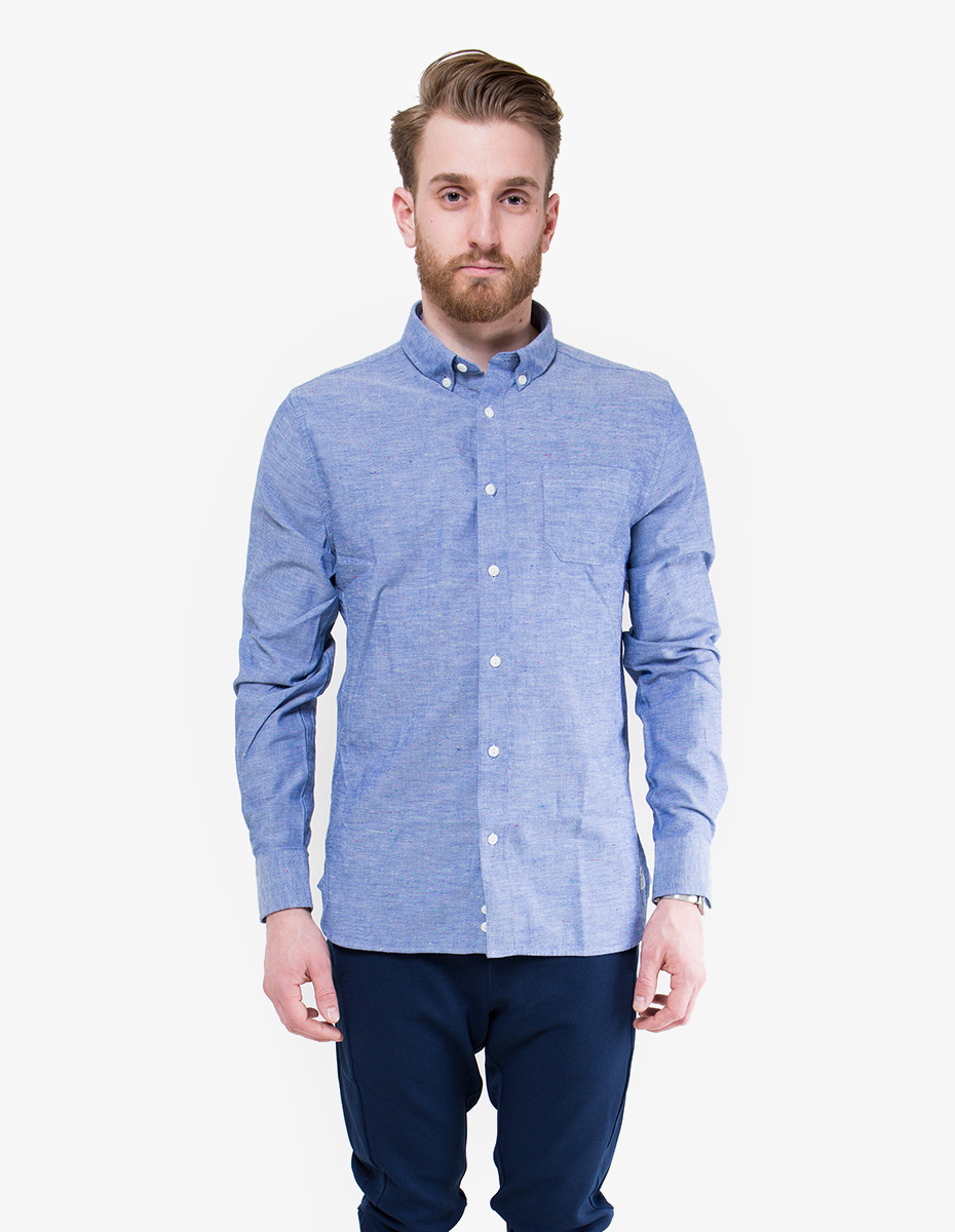 how to wear chambray shirt mens