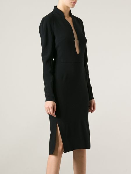 Tom Ford Backless Dress In Black Lyst