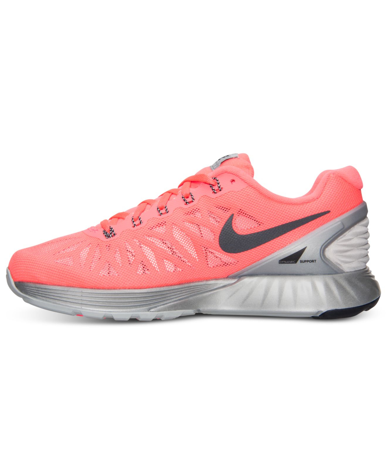 innovative design 88343 23c21 ... sweden where can i buy lyst nike womens lunarglide 6 flash running  sneakers from finish bdb6a