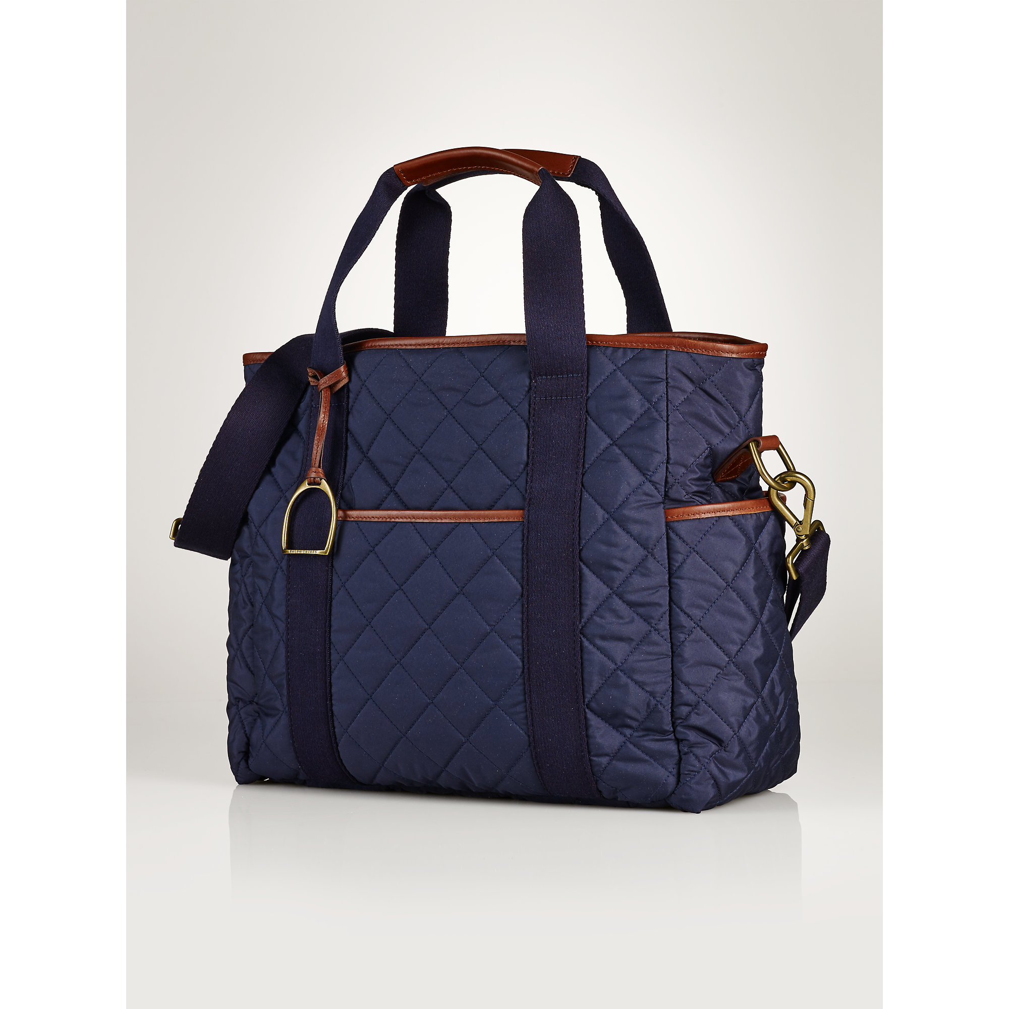 6854f6ddd949 Lyst - Ralph Lauren Diaper Bag in Blue