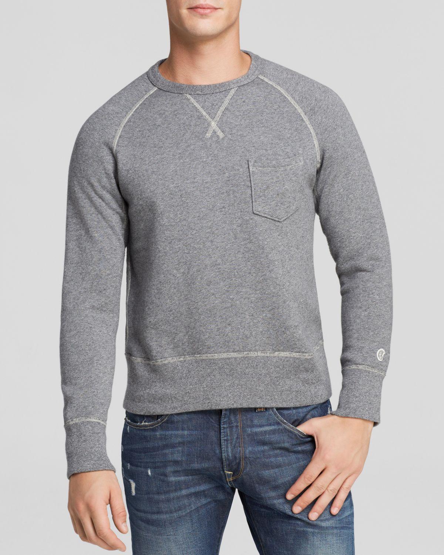 Todd snyder Vintage Crewneck Sweatshirt in Gray for Men | Lyst