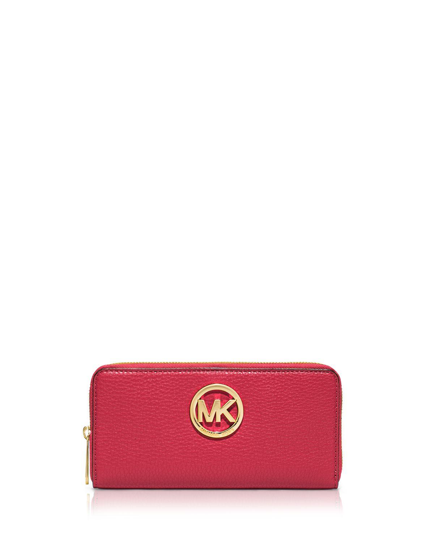 947a89ea8ea MICHAEL Michael Kors Red Wallet - Zip Around Continental