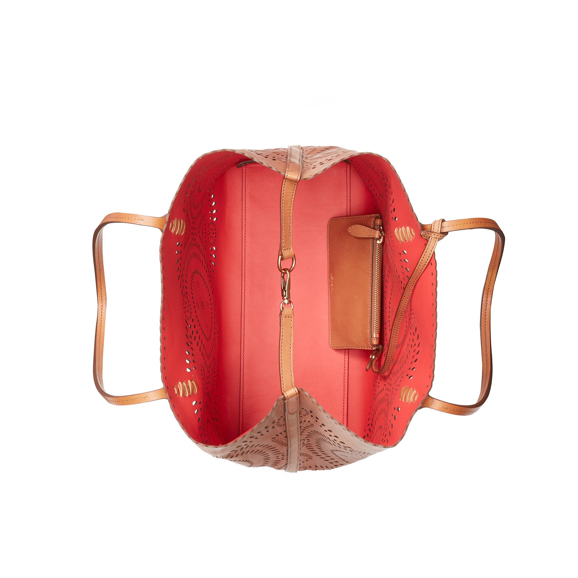 229507ea8b Ralph Lauren Polo Chic Canvas Handbag Orange