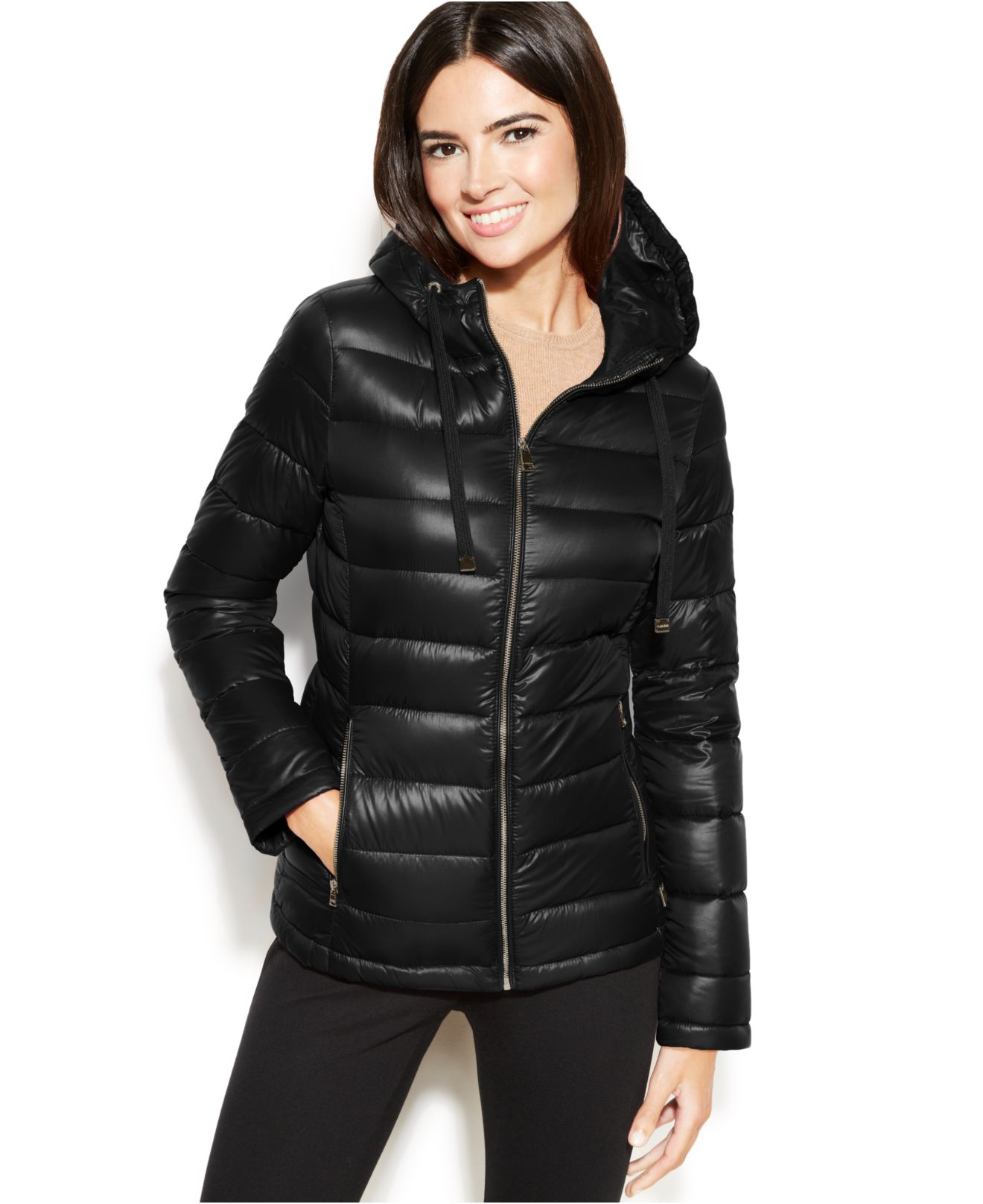 bc9c0d8ec3dc Calvin Klein Hooded Quilted Down Puffer Coat - Best Quilt Grafimage.co