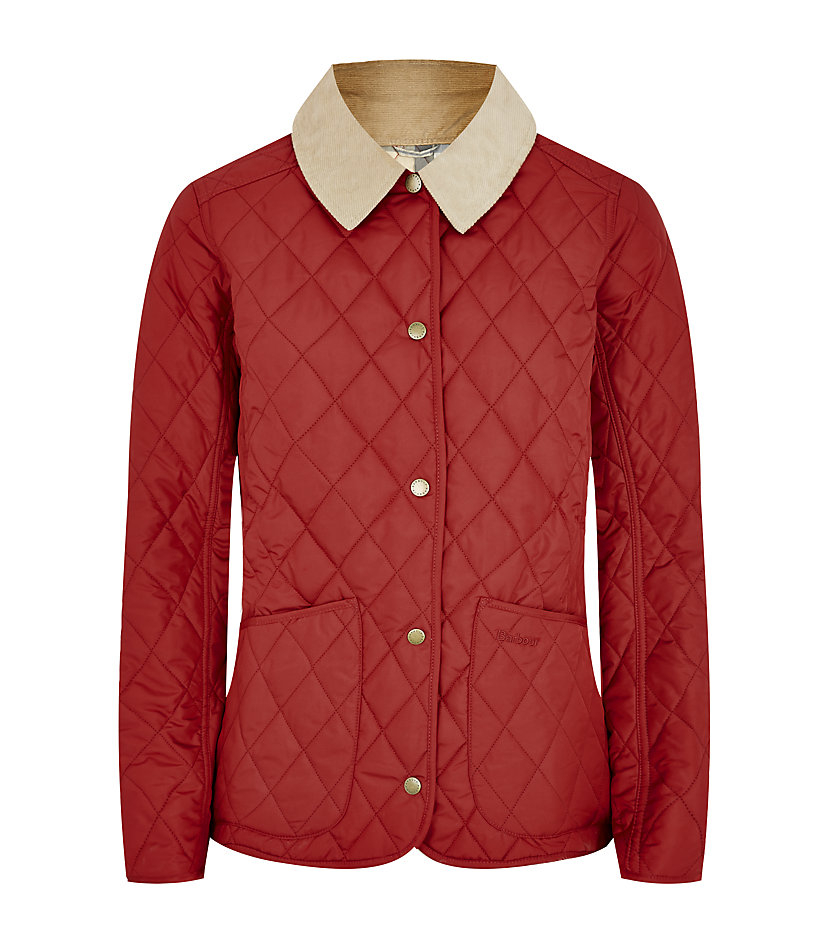 Barbour Tartan Spring Annandale Jacket In Red Lyst