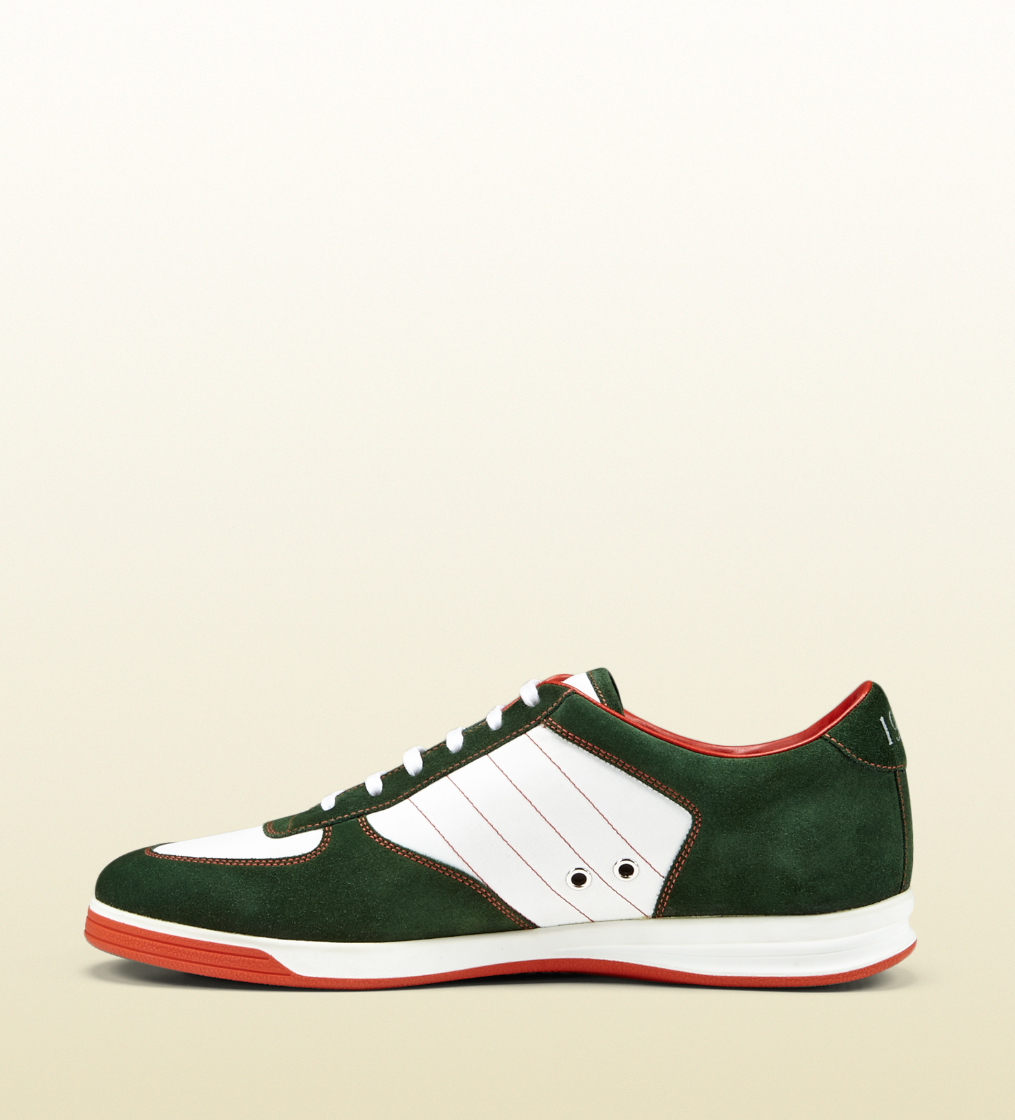 b86a4e0b0 Gucci 1984 Low Top Sneaker In Suede in Green for Men - Lyst