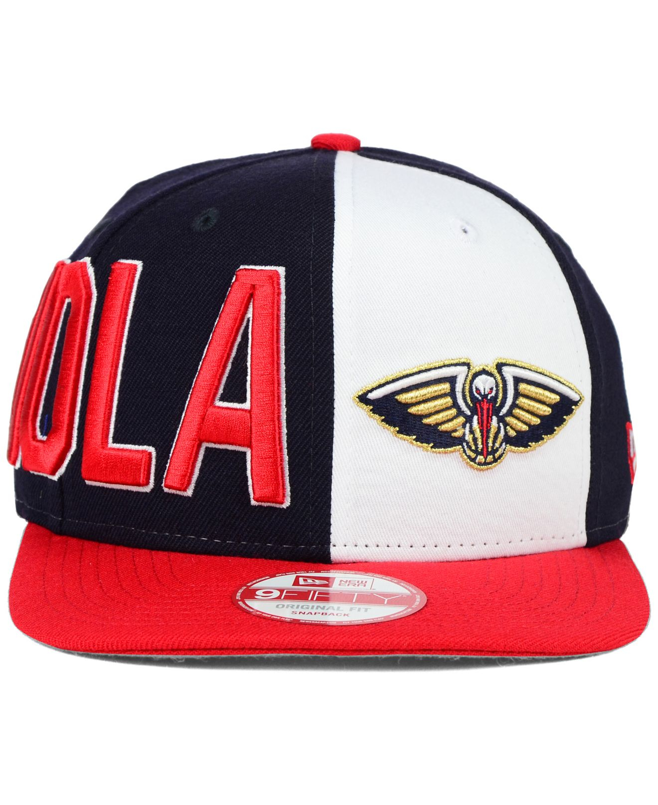detailed look b393b 72a8c ... get lyst ktz new orleans pelicans my block 9fifty snapback cap in blue  9ef21 73945