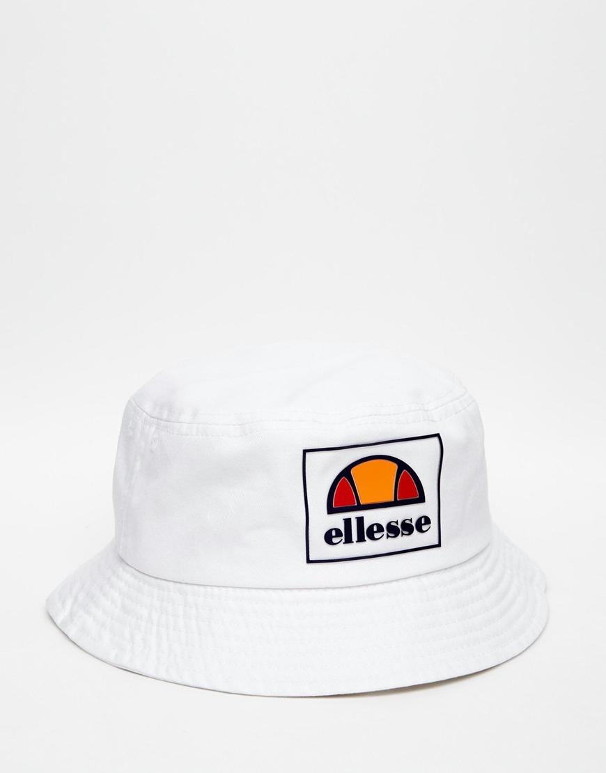 23eafce667 Ellesse White Bucket Hat for men