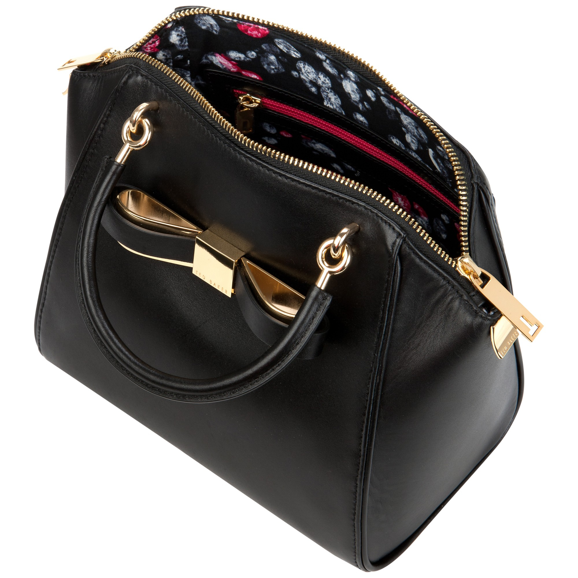 Ted Baker Bandook Slim Small Tote Bag in Black