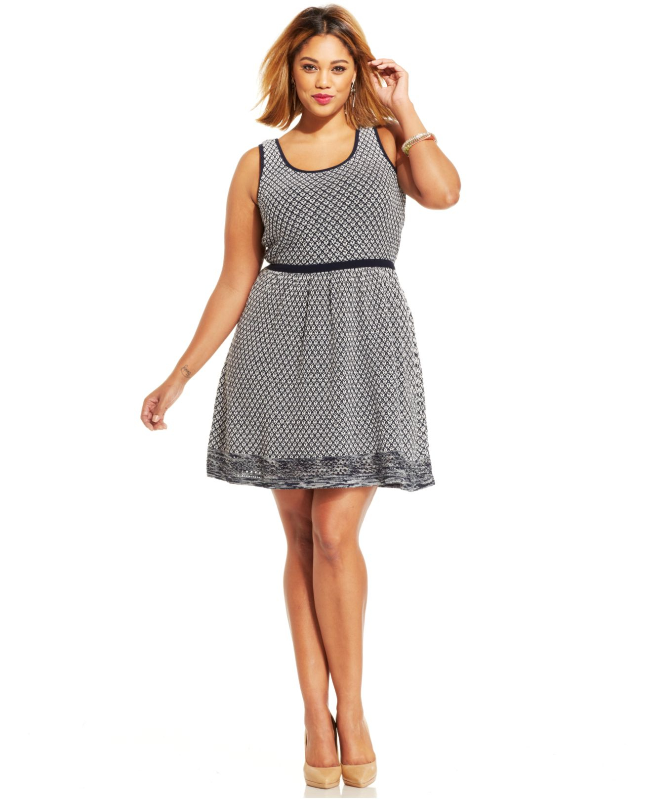 Jessica Simpson Plus Size Dresses