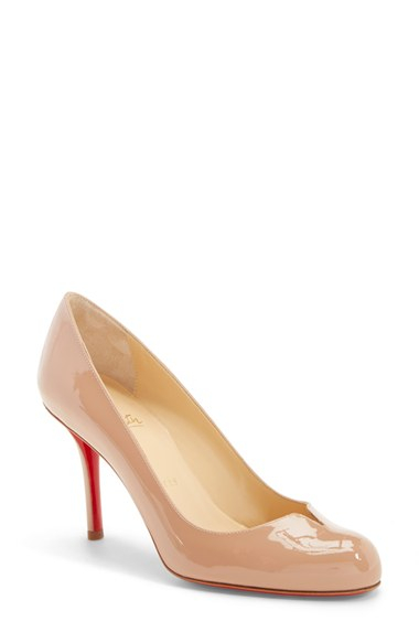 shoes replica usa - christian louboutin round-toe pumps Blue suede | cosmetics digital ...
