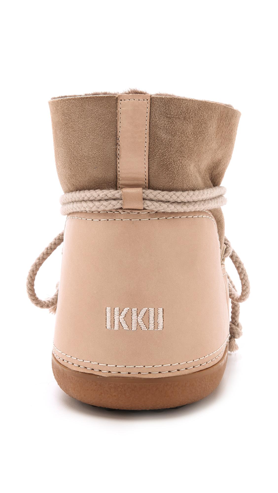 Ikkii Leather Ikkii - Cream in Natural