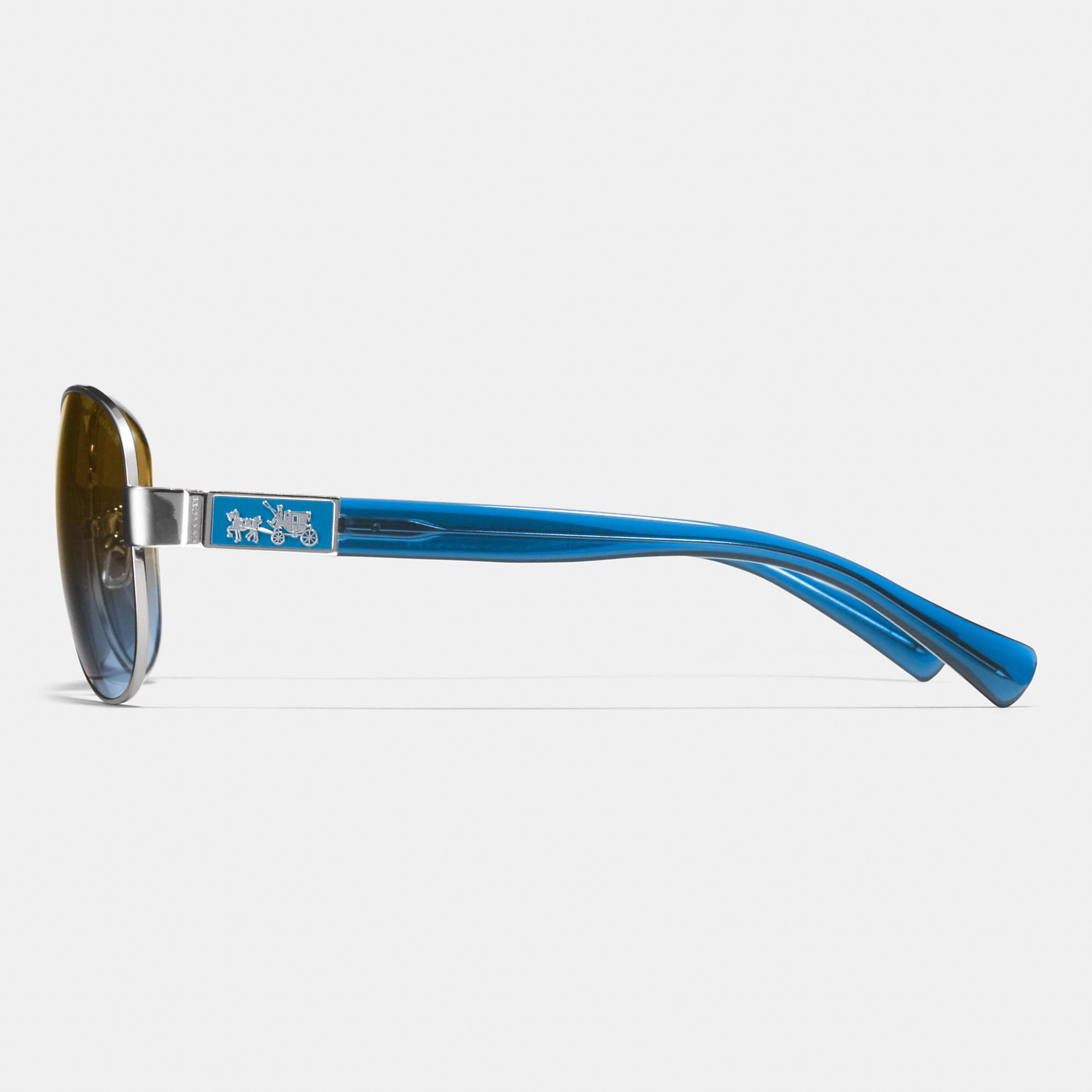 2f8ef78997 Coach Christina Sunglasses Blue