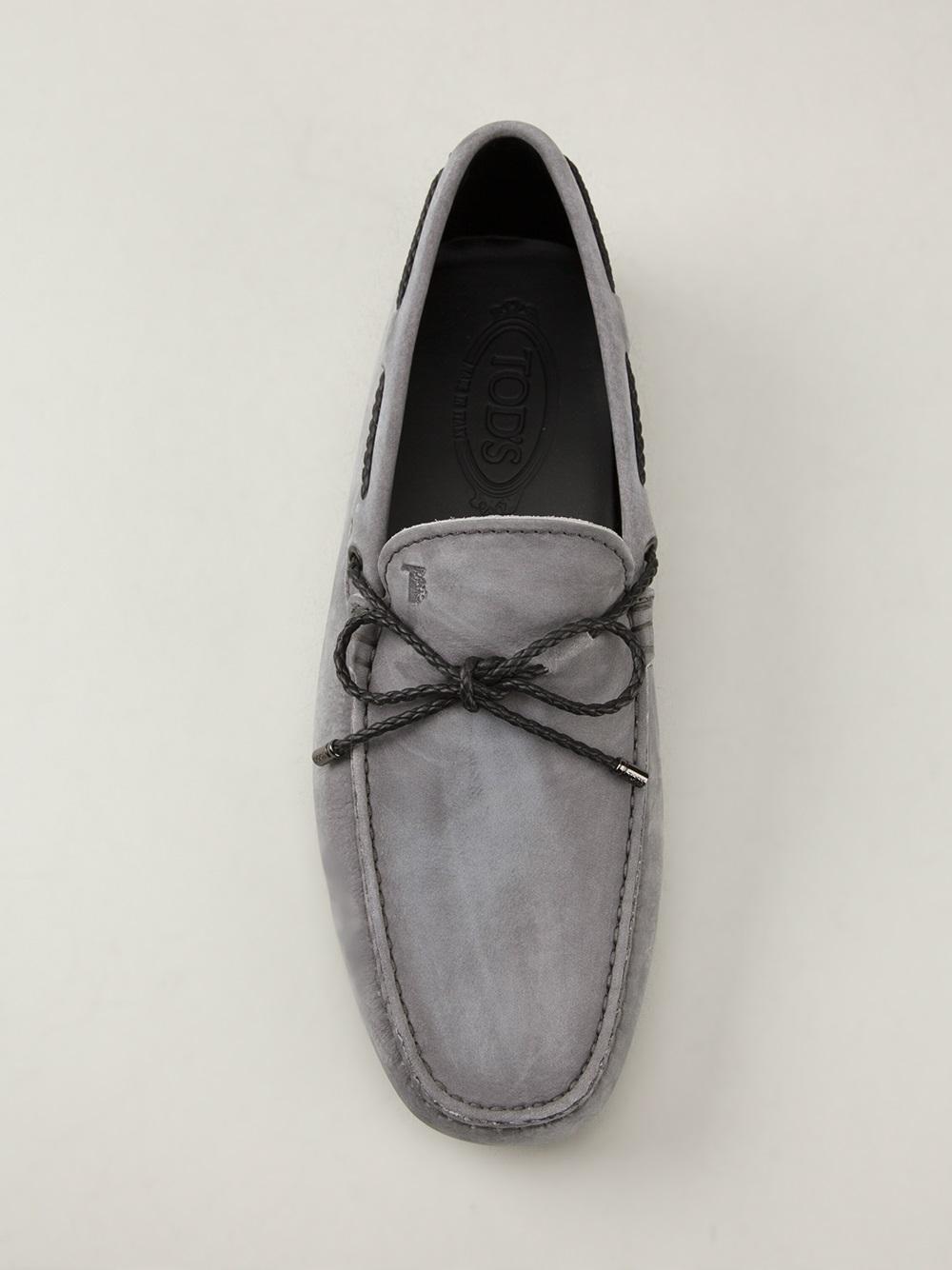 Gommino driving shoes - Grey Tod's T8YCcqiVA2