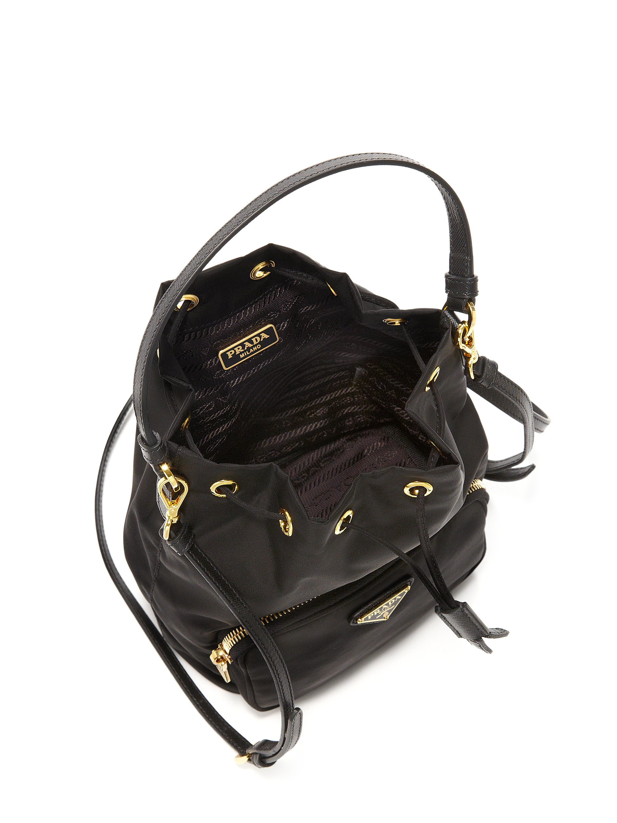 dc26eeba3b09 greece lyst prada tess mini backpack in black 9823b 2d406