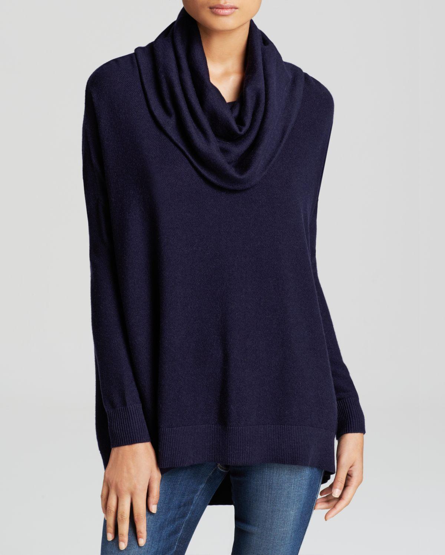 Joie Sweater - Melantha Cowl Neck in Blue | Lyst