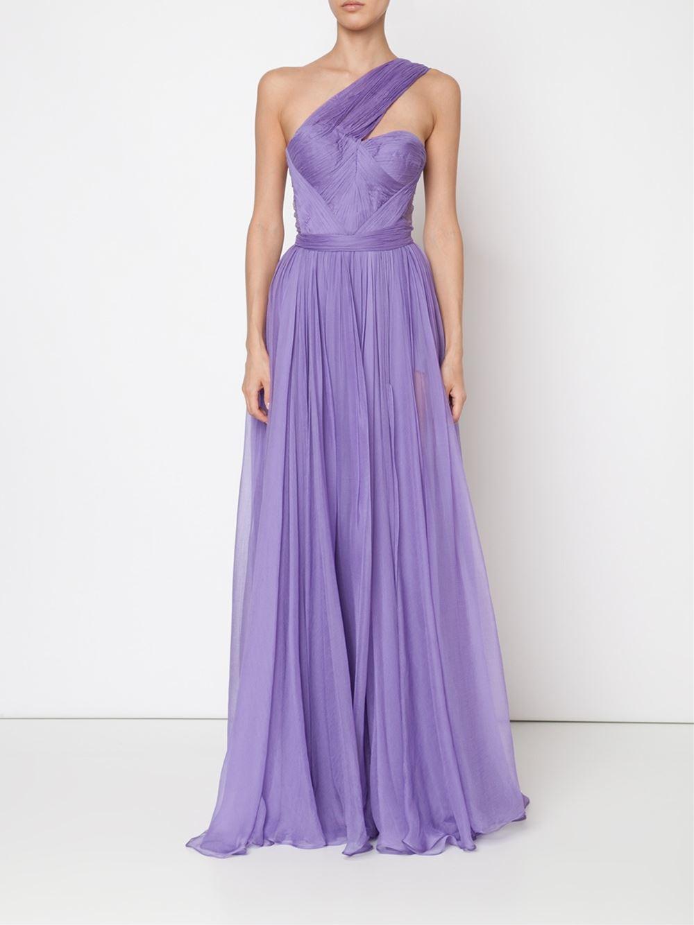 21f5b2897fb3 Lyst - Maria Lucia Hohan  maria  Dress in Purple