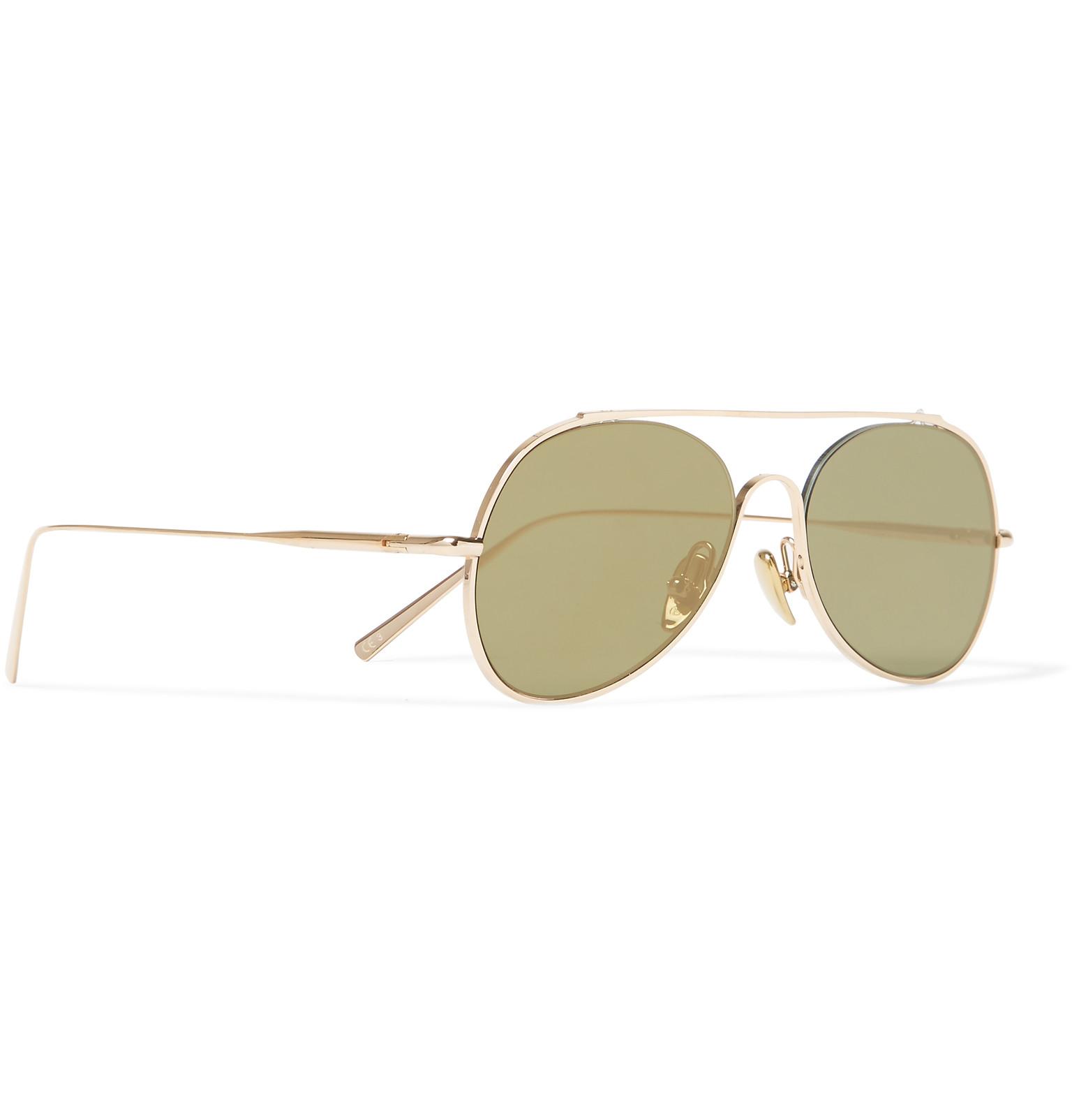 In Style Tone Gold Sunglasses Aviator Studios Spitfire Acne Small xwqT8p1