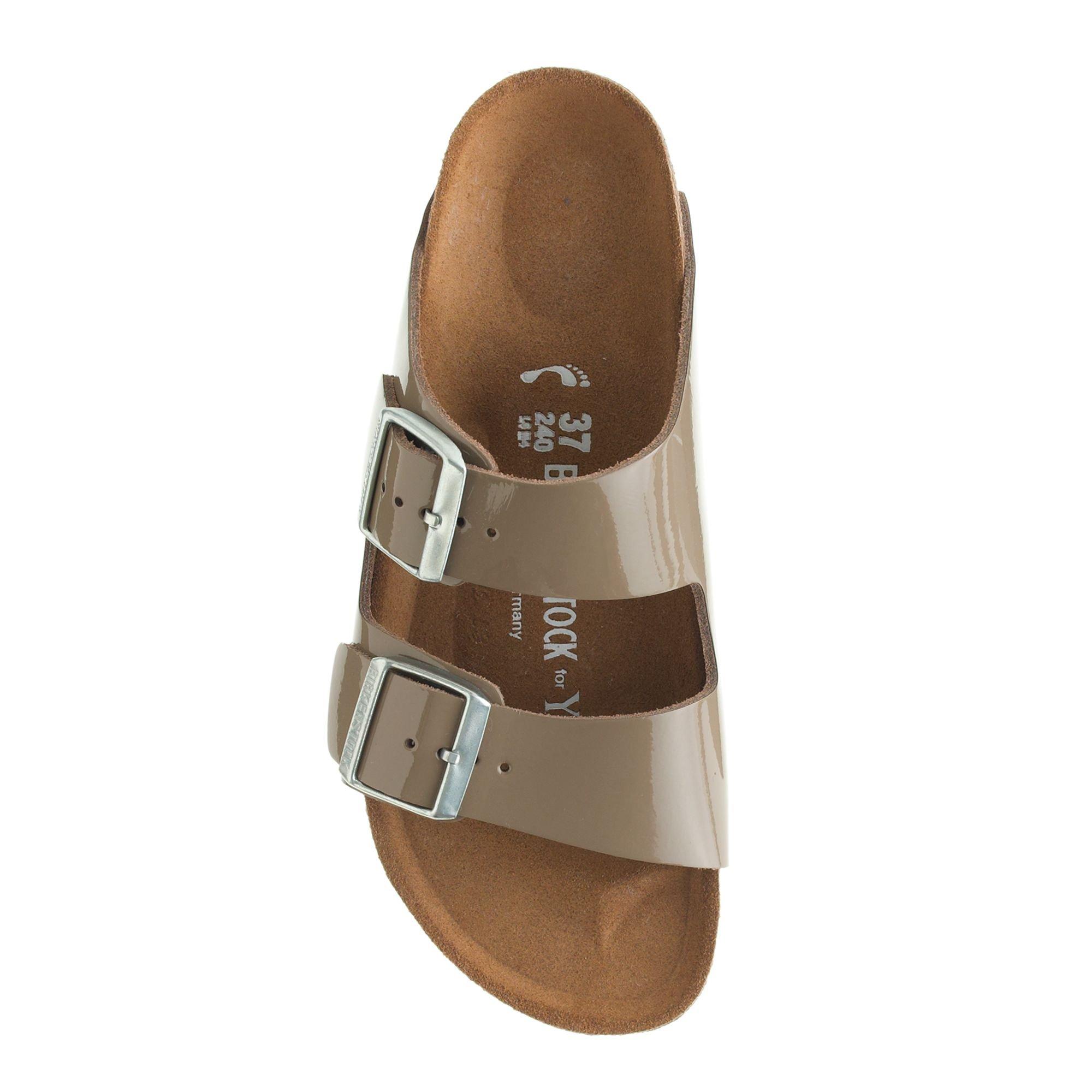 Lyst - Birkenstock Birkenstock For Patent Leather Arizona Sandals in ... 40cb36029