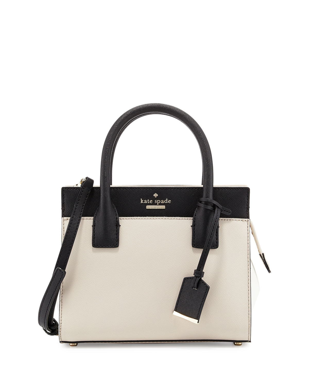 1a61e0a2b5beac Kate Spade Cameron Street Mini Candace Satchel Bag in Black - Lyst