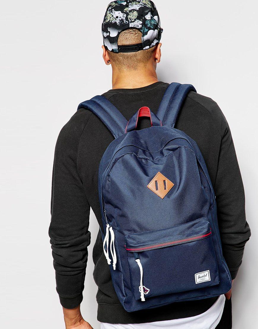 801ce2205a Herschel Supply Co. Herschel Hounds Heritage Backpack in Blue for ...