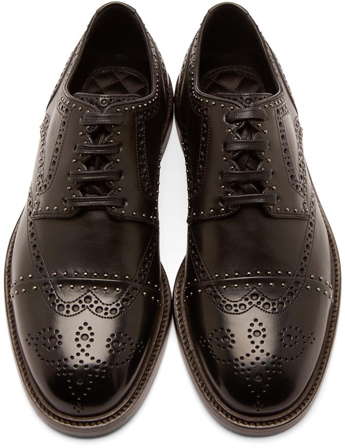 Dolce & Gabbana Studded brogues ZKezd5iuaB