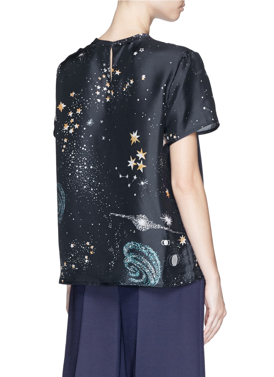 Silk top Valentino Discount Get To Buy Latest For Sale r3vIM