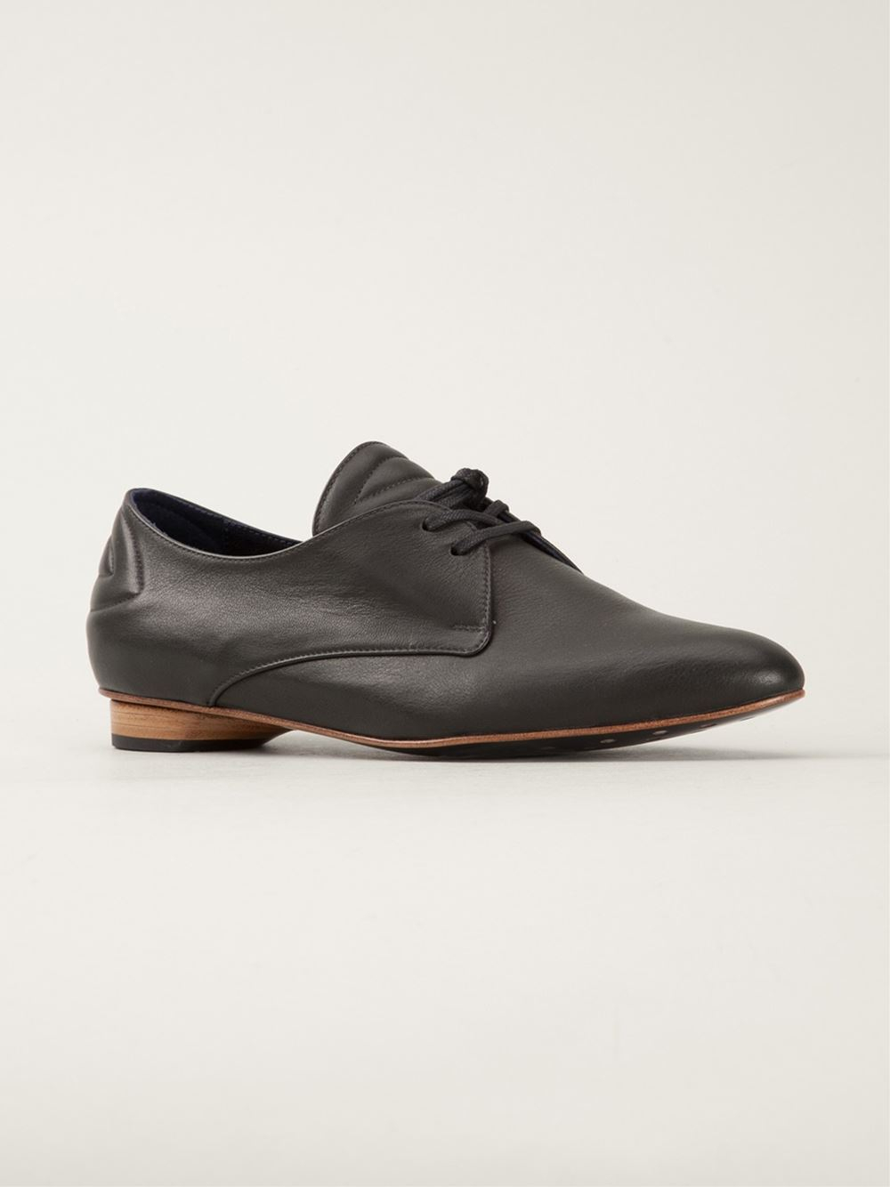 valas lace up shoes in black lyst