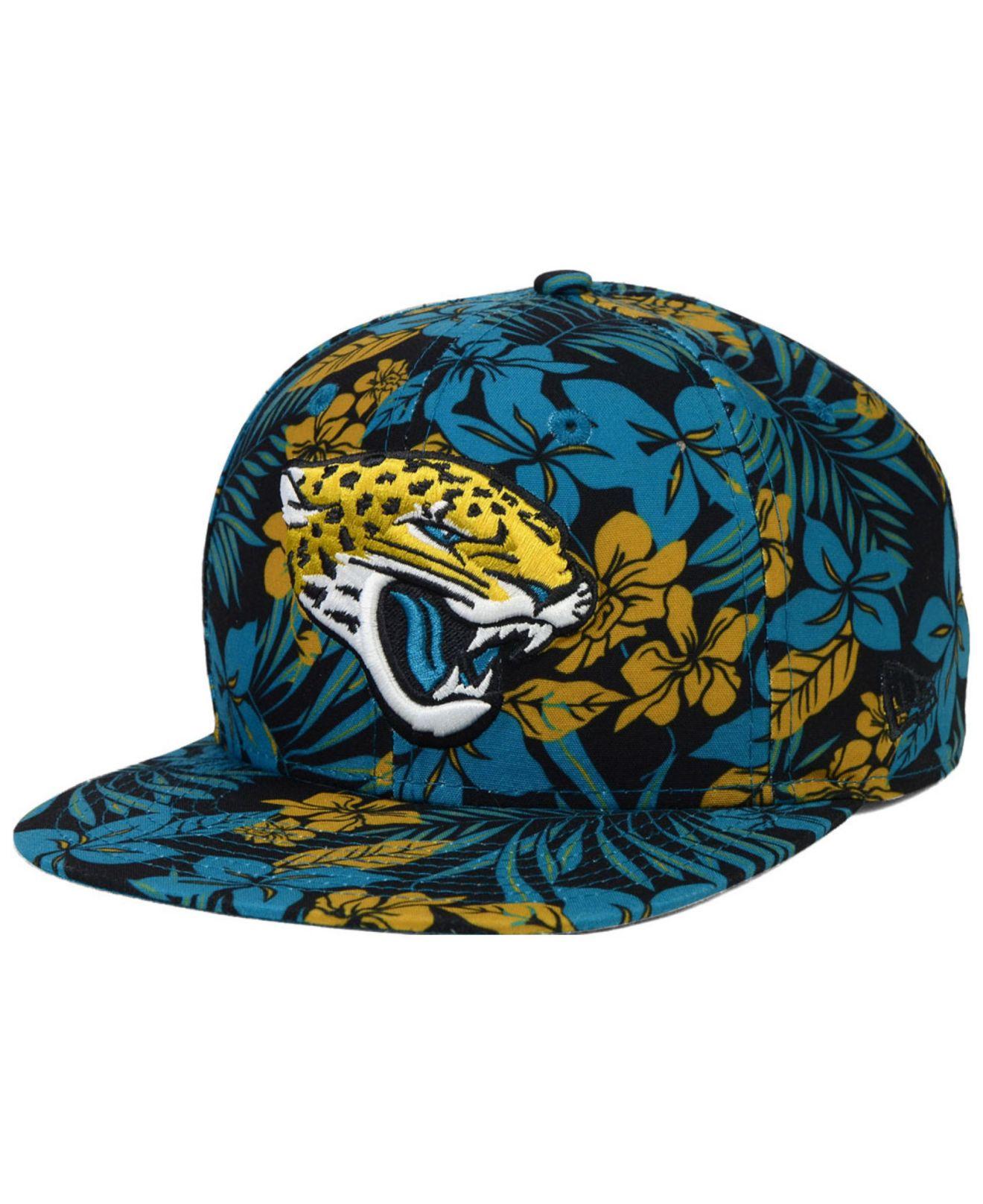 KTZ Black Jacksonville Jaguars Wowie Snapback Cap for men