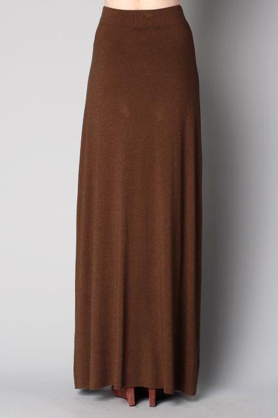 american vintage midi skirt maxi skirt in green lyst
