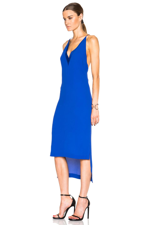 colour block dress - Blue Dion Lee CADWQjM