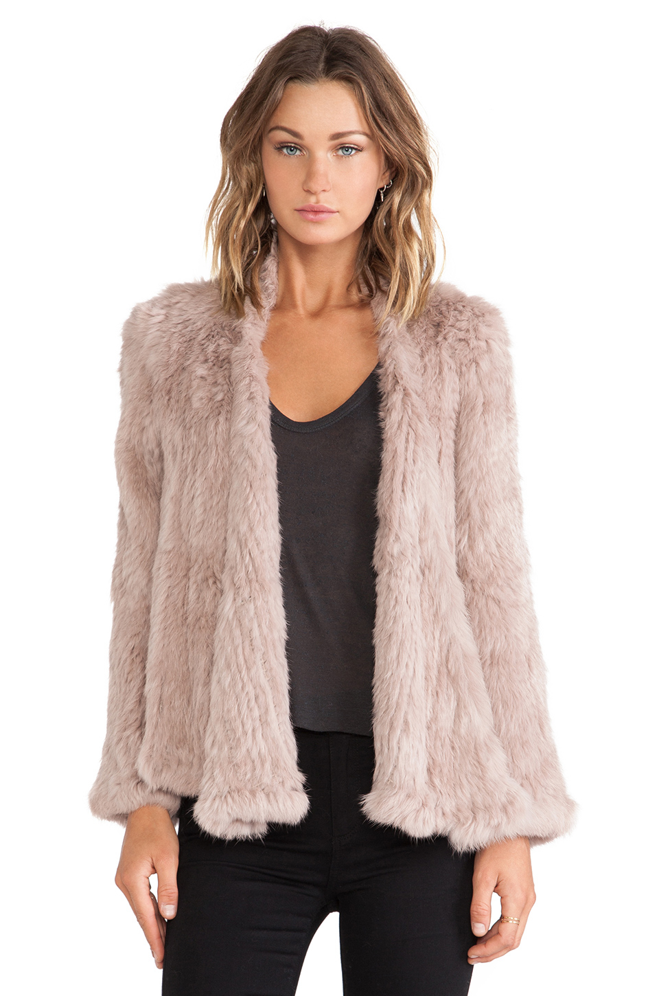 Rabbit fur jacket - Compare Prices & Store Ratings at bonjournal.tke Selection · Big Deals · Comparison Shopping · Top Brands.