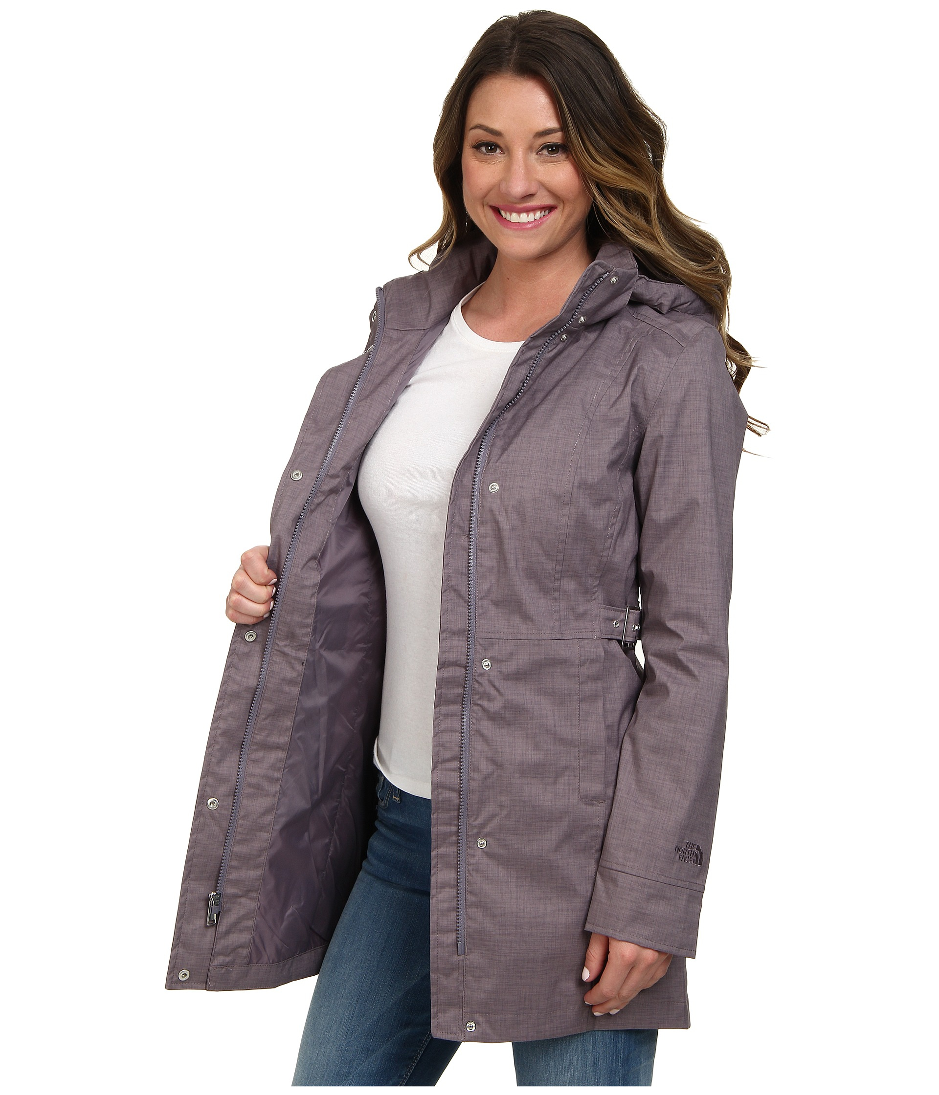 6f5f706b0 Women's Gray Laney Trench