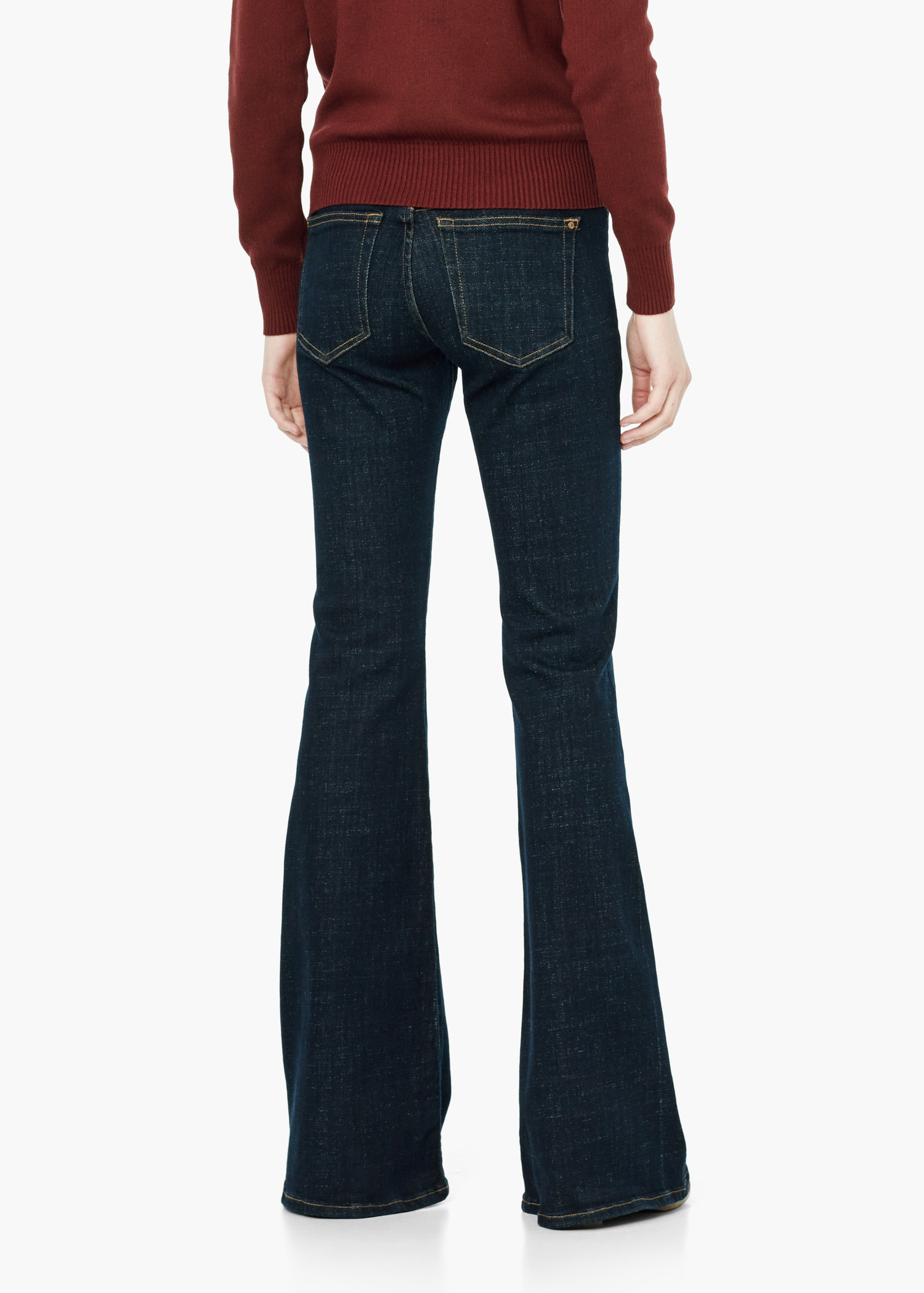 70s Style Ripped Bell-Bottom Wide Flared Jeans - Blue $ 59 out of 5 stars Ybenlow. Women Classic High Waist Flared Skinny Denim Jeans Bell Bottom Pants. from $ 23 88 Prime. out of 5 stars 9. Stetson. Womens Denim Trousers On Back Pocket. from $ 63 27 Prime. out of 5 stars Ermonn.