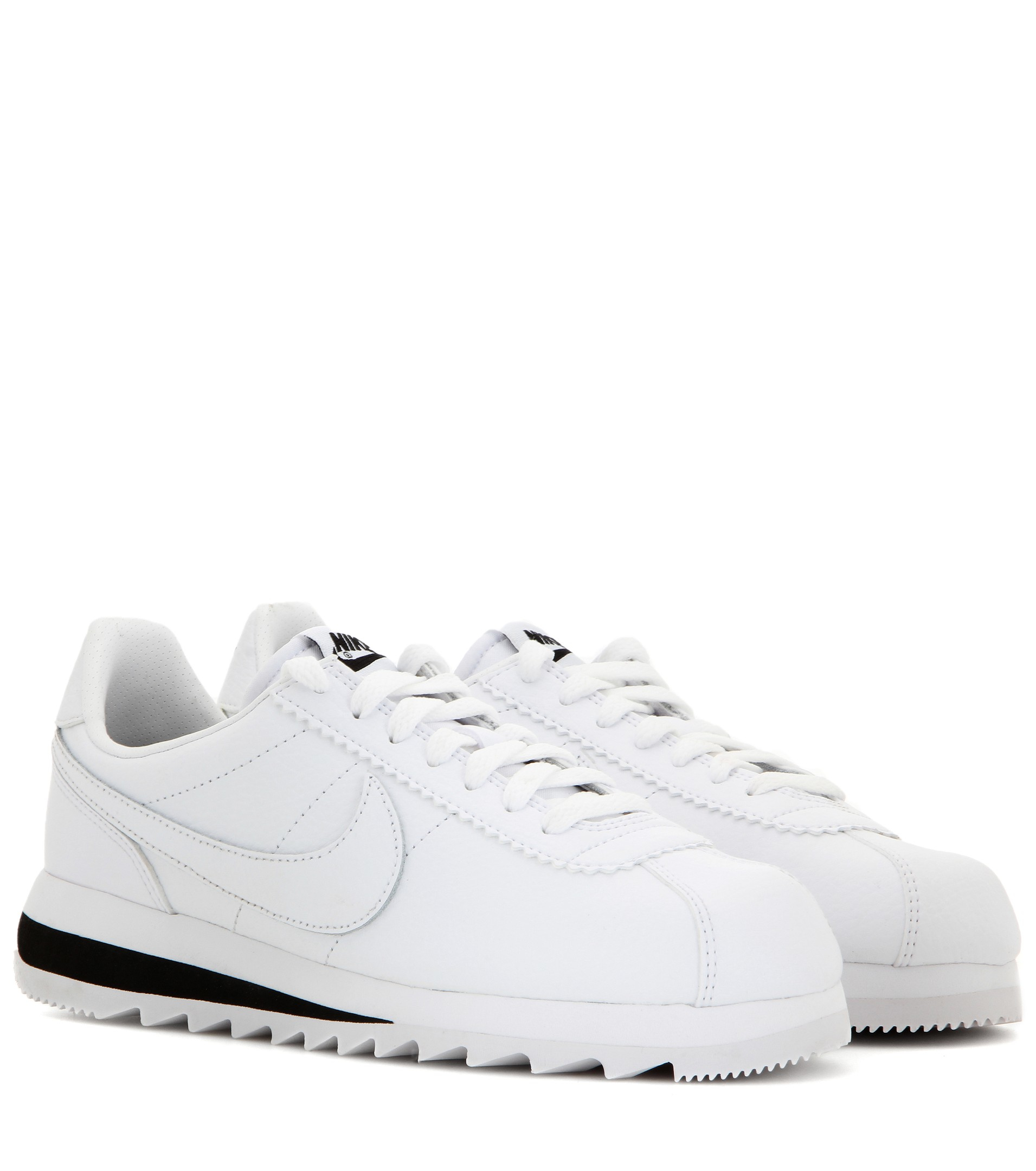 Nike Classic Cortez Epic Premium Leather Sneakers in White