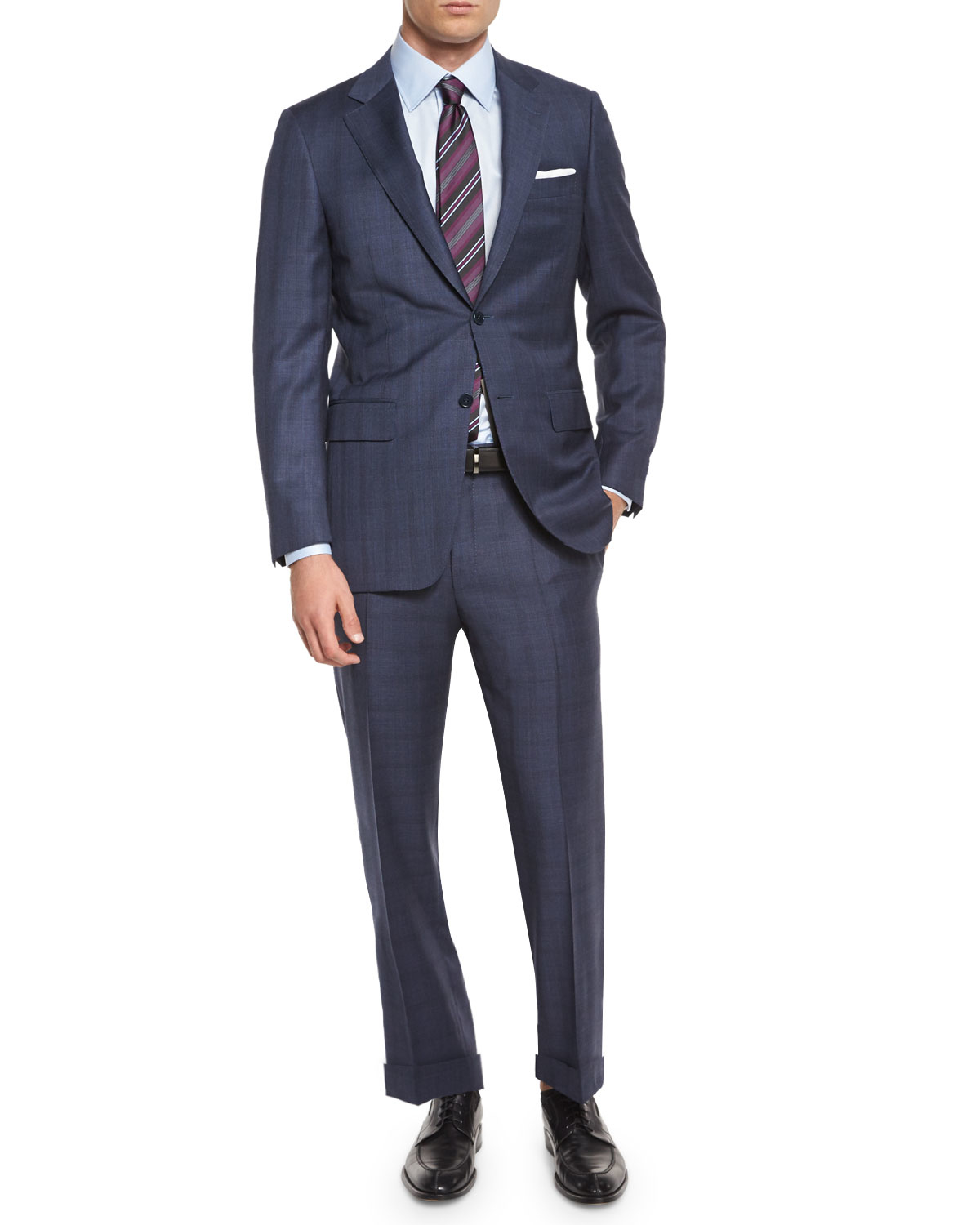 Buy two-piece suits from Charles Tyrwhitt of Jermyn Street, London. Choose from a range of cuts and styles to find your perfect suit.