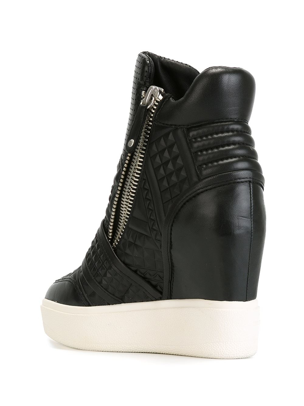 Ash Wedge Sneakers in Black | Lyst