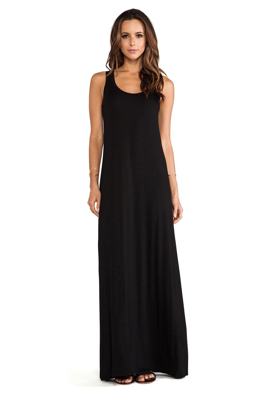 Lyst Michael Stars Sonia Sleeveless Tank Maxi Dress In Black