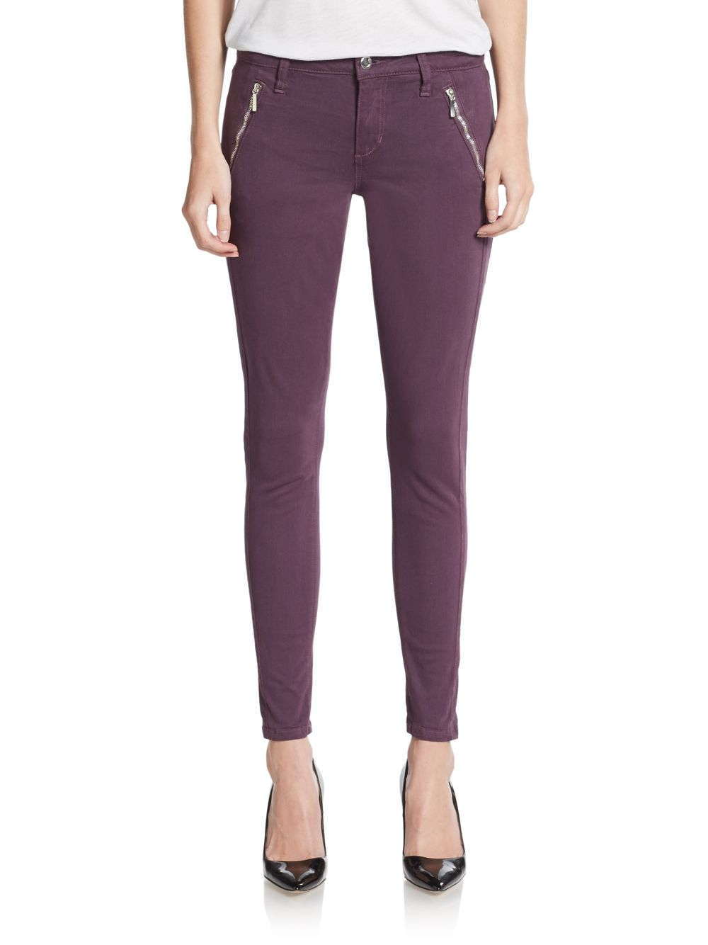 Purple Skinny Jeans For Women