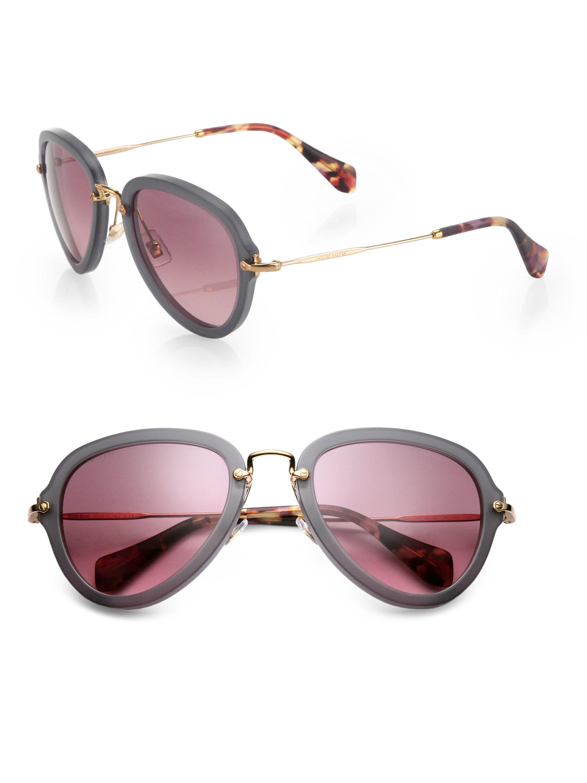 Miu Miu Round Sunglasses Replica   David Simchi-Levi bc5f9aa744