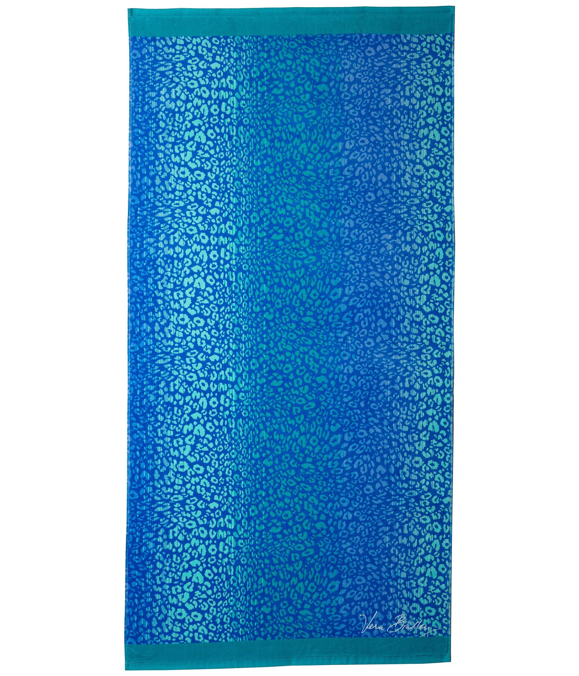 Vera Bradley Whale Beach Towel: Vera Bradley Beach Towel In Blue