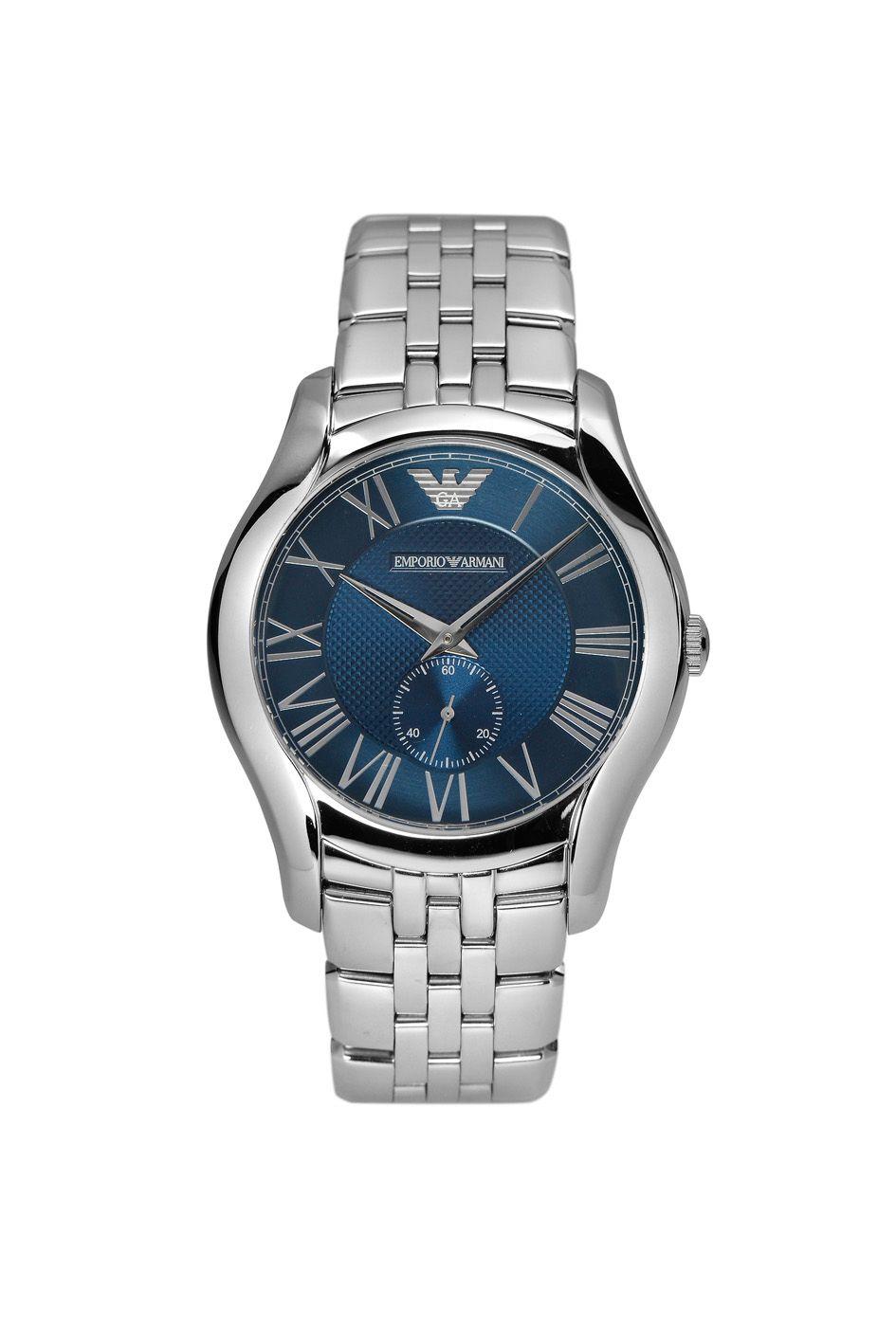 Emporio Armani Ar1789 Classic Silver Mens Bracelet Watch